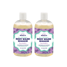 Load image into Gallery viewer, Natural Body Wash 16 FL OZ (2-Pack) - Beautiful People Beauty Supply