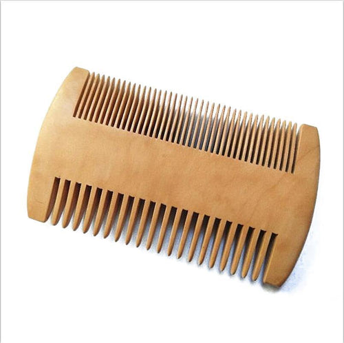 Wooden Beard Comb - Beautiful People Beauty Supply