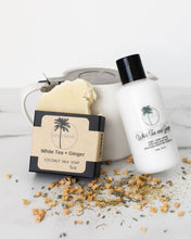 Load image into Gallery viewer, White Tea + Ginger Coconut Milk Soap - Beautiful People Beauty Supply