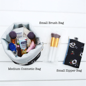 Portable Cosmetic Bags - Beautiful People Beauty Supply