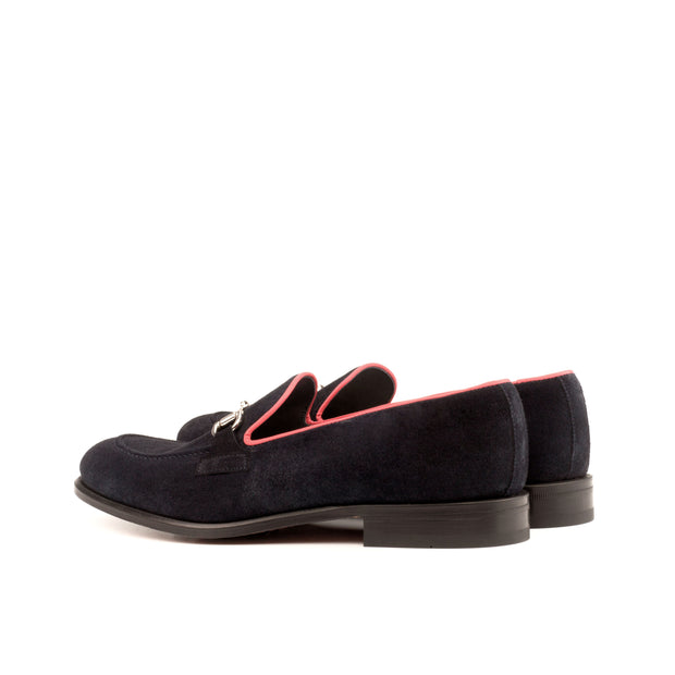 Loafer-Painted Calf, Suede, Red, Blue 3