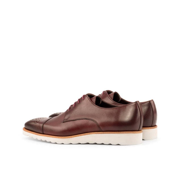 Derby-Painted Full Grain, Painted Calf, Burgundy 3