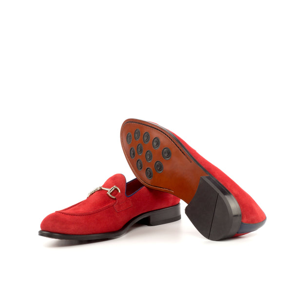 Loafer-Painted Calf, Suede, Blue, Red 1--GIDE-2870-4209