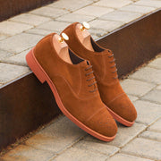 Oxford-Suede, Brown 4