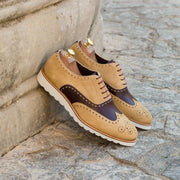 Full Brogue-Suede, Box Calf, Brown, Burgundy 5