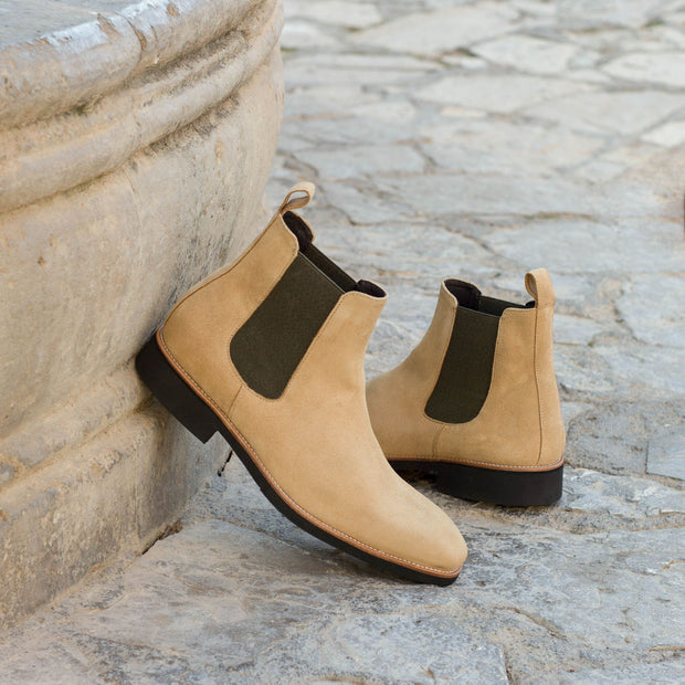 Chelsea Boot Classic-Suede, Brown 4