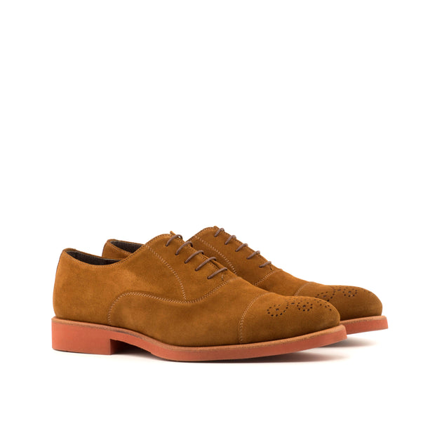 Oxford-Suede, Brown 2