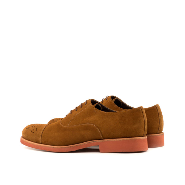 Oxford-Suede, Brown 3