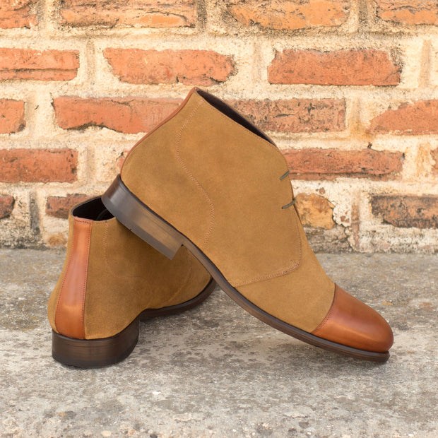 Chukka-Painted Calf, Suede, Brown 5