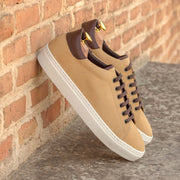 Trainer-Suede, Box Calf, Brown, Dark Brown 5