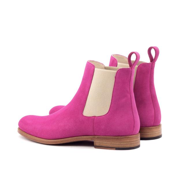 Ladies' Chelsea Boot-Kid Suede, Violet 3