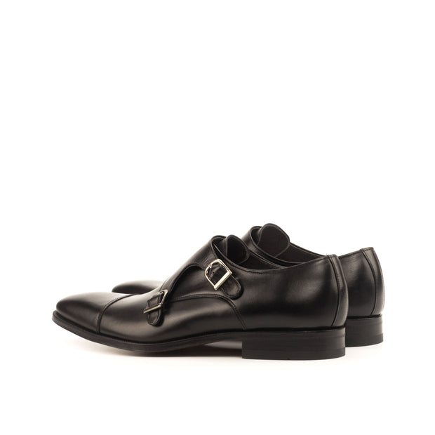 Double Monk-Box Calf, Black 3