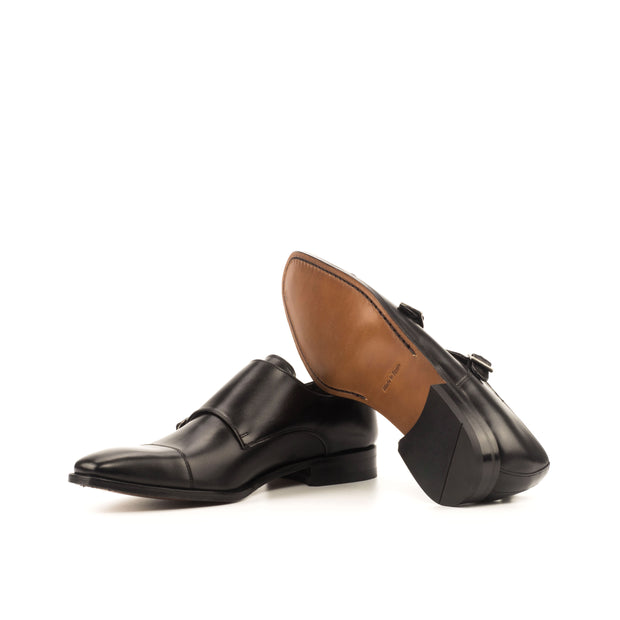 Double Monk-Box Calf, Black 1--GIDE-2886-3810