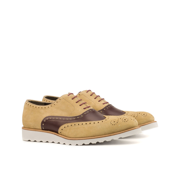 Full Brogue-Suede, Box Calf, Brown, Burgundy 2