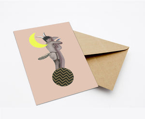 SHADOW (NEW COLOUR) POSTCARD WITH ENVELOPE