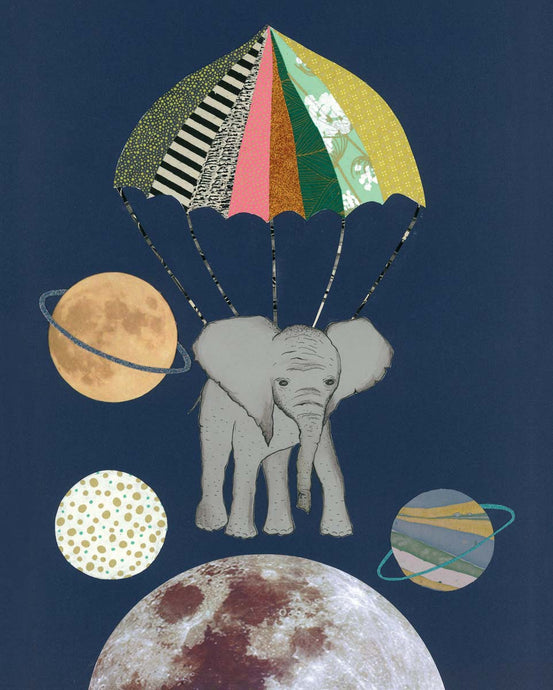 ELEPHANT IN SPACE