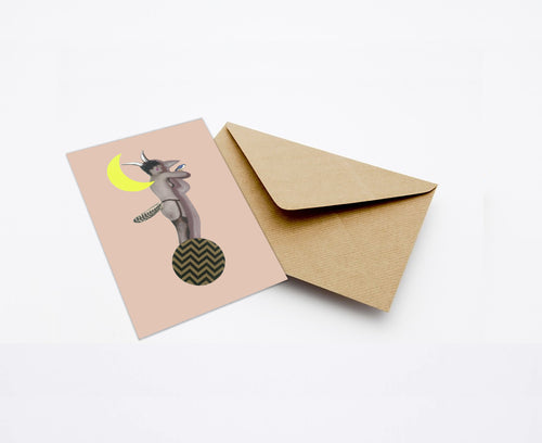 SHADOW MINI CARD WITH ENVELOPE