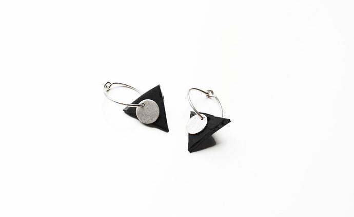 Simplicity Triangle earrings