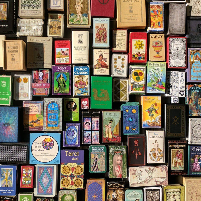 Selecting your first Tarot deck