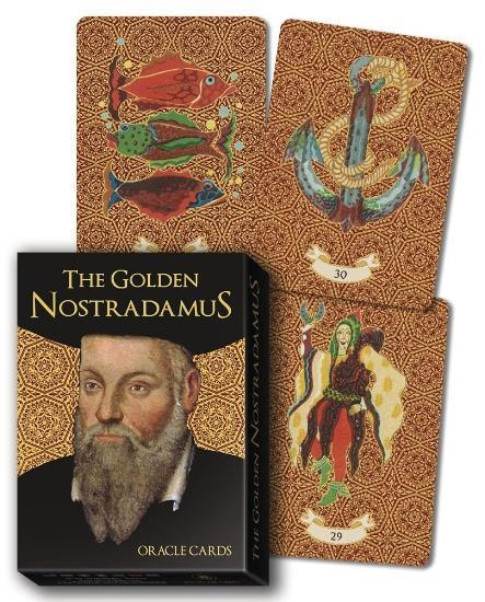 The Golden Nostradamus Oracle Cards Oracle Deck