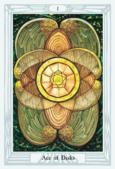 Crowley Thoth Tarot Deck Large Tarot Deck