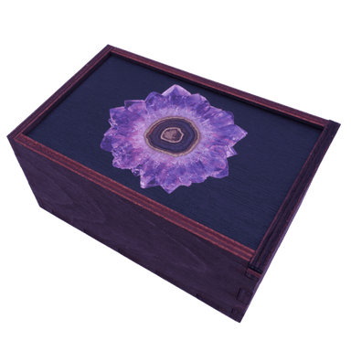 Amethyst Storage Box Box