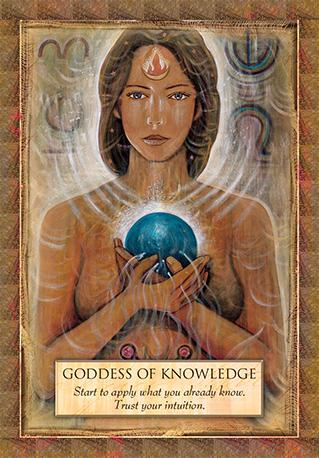 Angels, Gods and Goddesses Oracle Kit