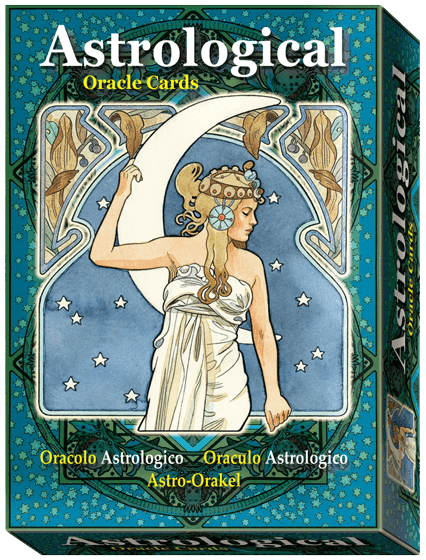 Astrological Oracle Cards Oracle Deck