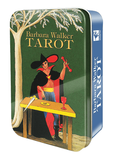 Barbara Walker Tarot in a Tin Tarot Deck