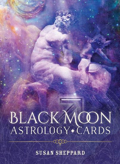 Black Moon Astrology Cards Oracle Kit