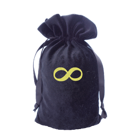 Tarot Bag with gold Infinity Symbol Bag
