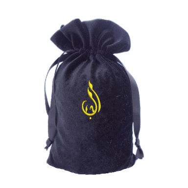 Tarot Bag with Arabic Calligraphy Bag