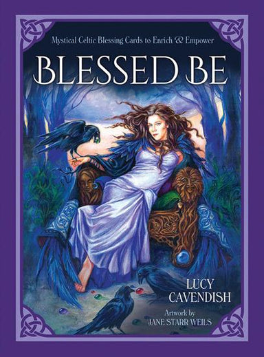 Blessed Be Blessing Cards Oracle Kit