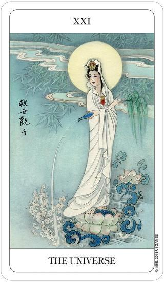 The Chinese Tarot Tarot Deck