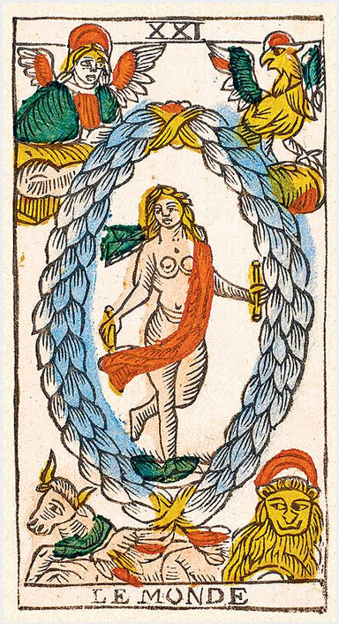 TAROT by CLAUDE BURDEL </p> <p><em>Fribourg 1751, Switzerland</em></p> Tarot Deck