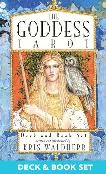 The Goddess Tarot Deck and Book Set Tarot Kit