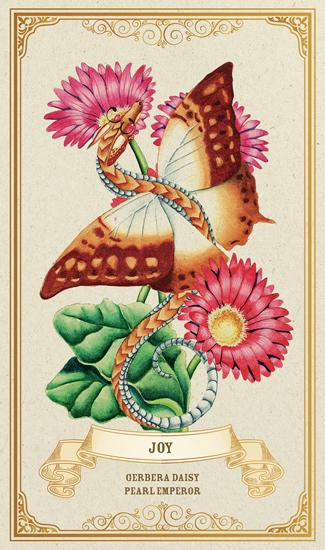 Enchanted Blossoms Empowerment Oracle Oracle Deck