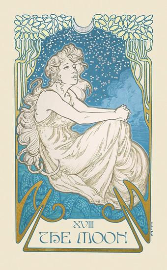 Ethereal Visions: Illuminated Tarot Deck Tarot Deck