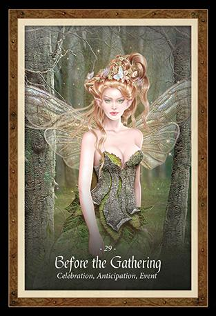 The Faery Forest Oracle Kit