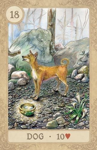 Fairy Tale Lenormand in a tin Lenormand Deck