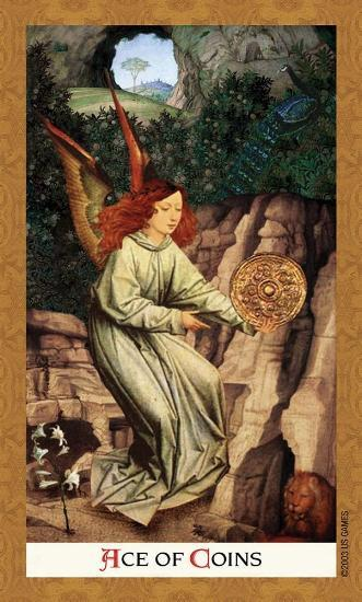 Golden Tarot Tarot Deck