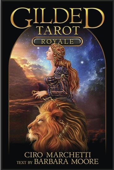 Gilded Tarot Royale Boxed Kit Tarot Kit