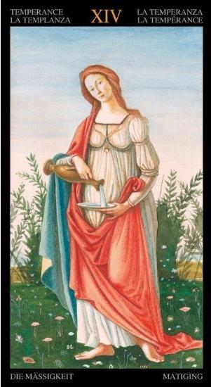 Golden Botticelli Tarot Tarot Kit