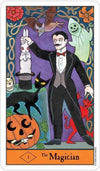 Halloween Tarot Deck and Book Set Tarot Kit