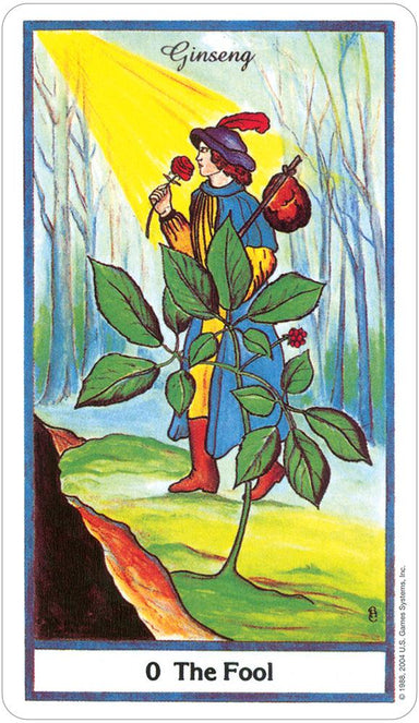 The Herbal Tarot Tarot Deck