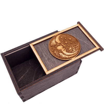 Moon and Stars Tarot Box Box