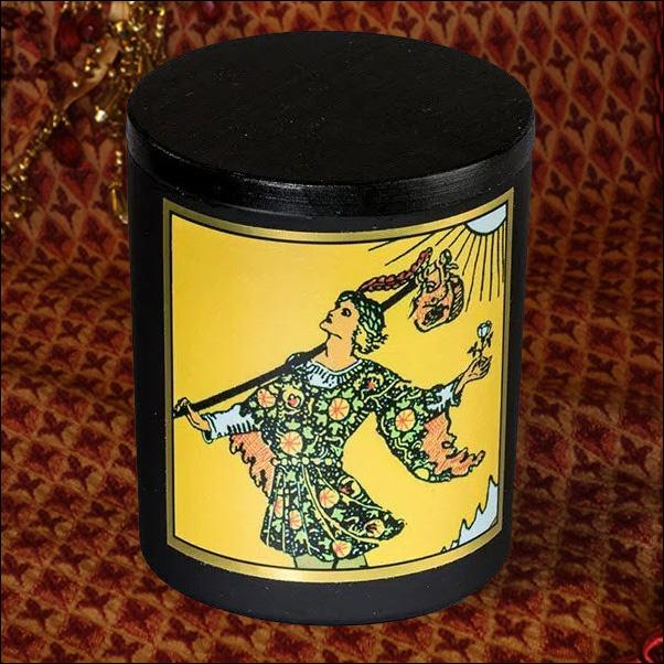 The Fool: 8.5 Oz Magickal Tarot Candle Candle