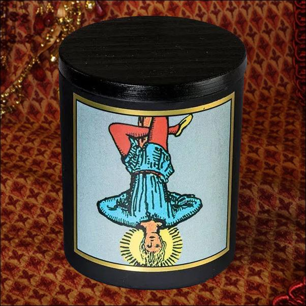 The Hanged Man - Magickal Tarot Candle Candle