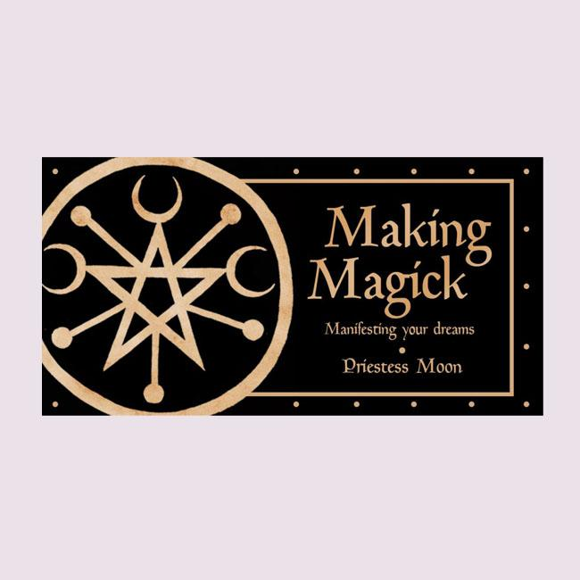 Making Magick Mini Spell Cards Oracle Deck
