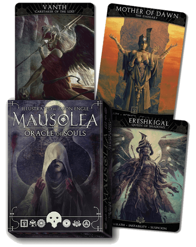 Mausolea Oracle of Souls Oracle Deck